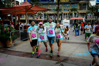 Color Run - Finish Times 56:00-1:17:00