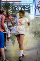Color Run - Finish Times 21:00-37:00