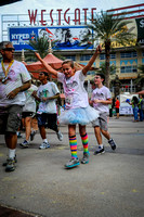 Color Run - Finish Times 37:00-43:00